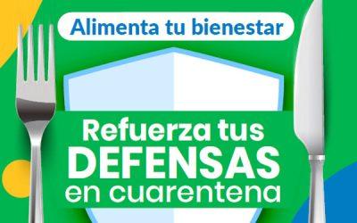 Guía 16: Refuerza tus defensas en Cuarentena