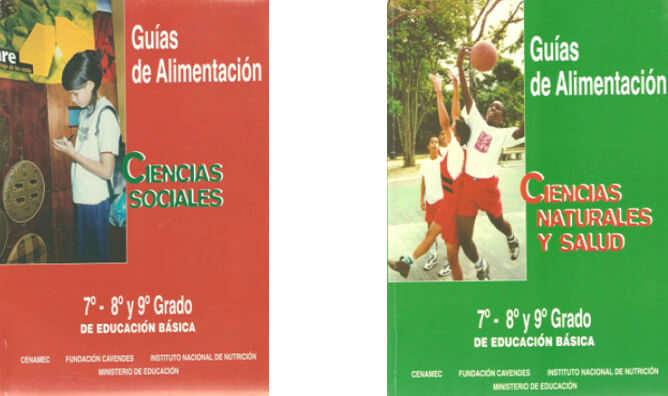 Guías de Alimentación en Ciencias Sociales y Ciencias Naturales y Salud. 1998
