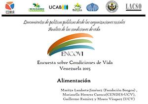 ENCOVI – Encuesta sobre Condiciones de Vida Venezuela 2015
